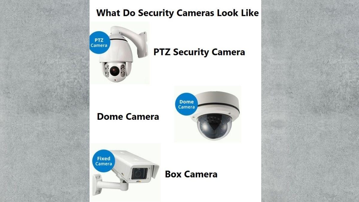 What Do Security Cameras Look Like Security Camera Box Camera Dome Camera
