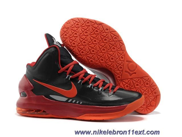 low priced fc11b 2037e Black Red 554988 105 Nike Zoom KD V 5 Online