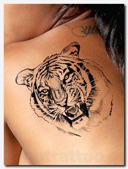 Tiger Tattoo U2026 Pinteresu2026 Hot Tattoo Flesh Tattoo Neck Tattoo Back Tattoo