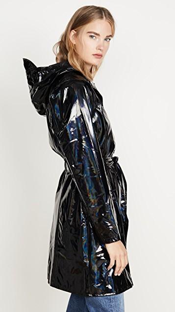 Black & Shiny | Rainwear fashion, Vinyl clothing, Pvc raincoat