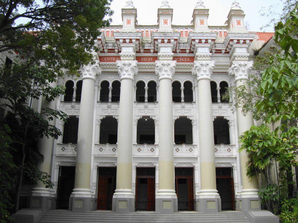 Central High School San Juan Su Diseno Es Atribuida