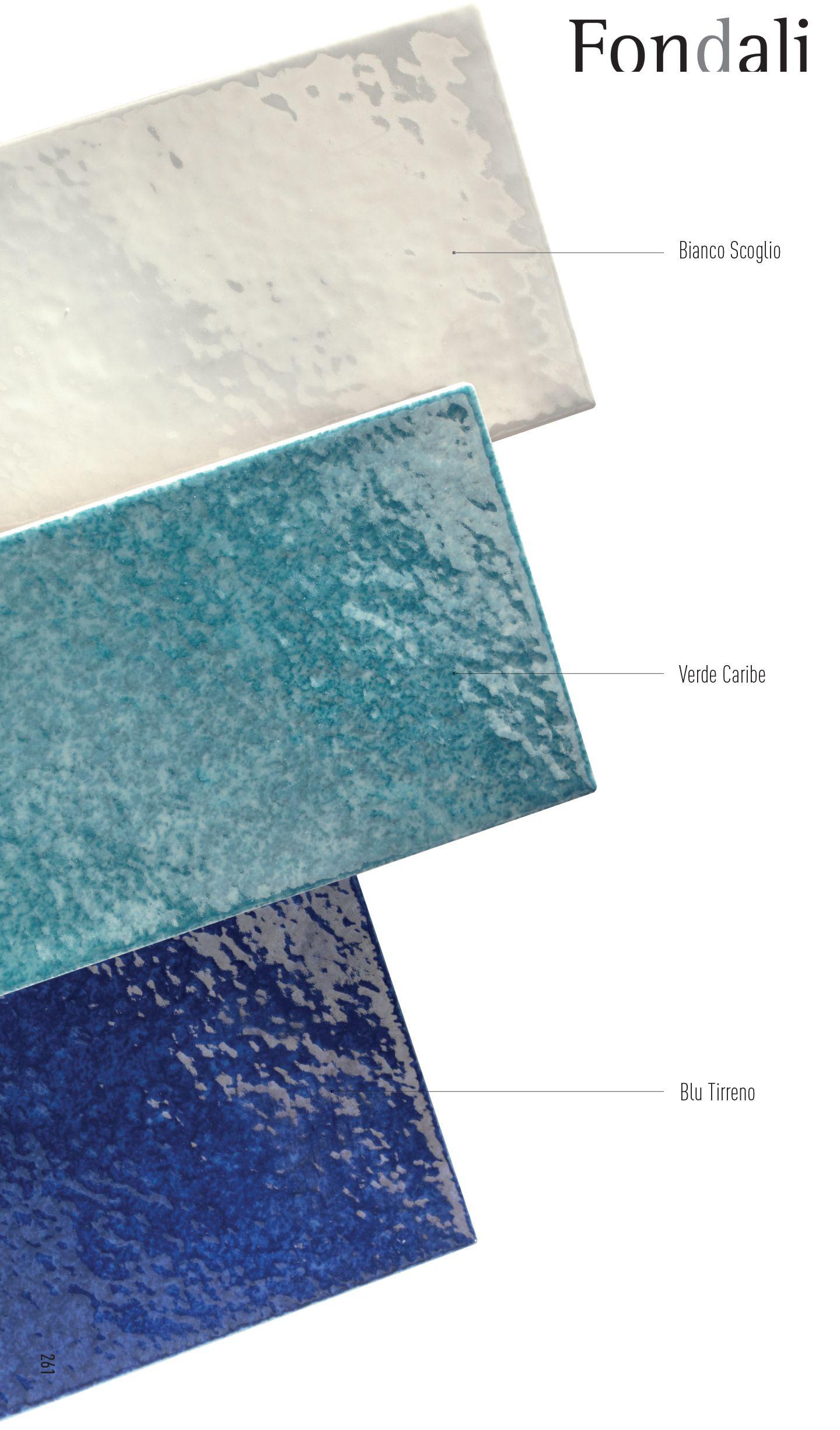 Piastrelle Bagno Blu Texture Good Ceramiche Marco Corona