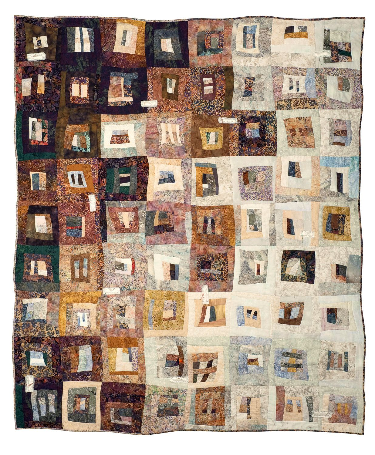 Fused Lives art quilt