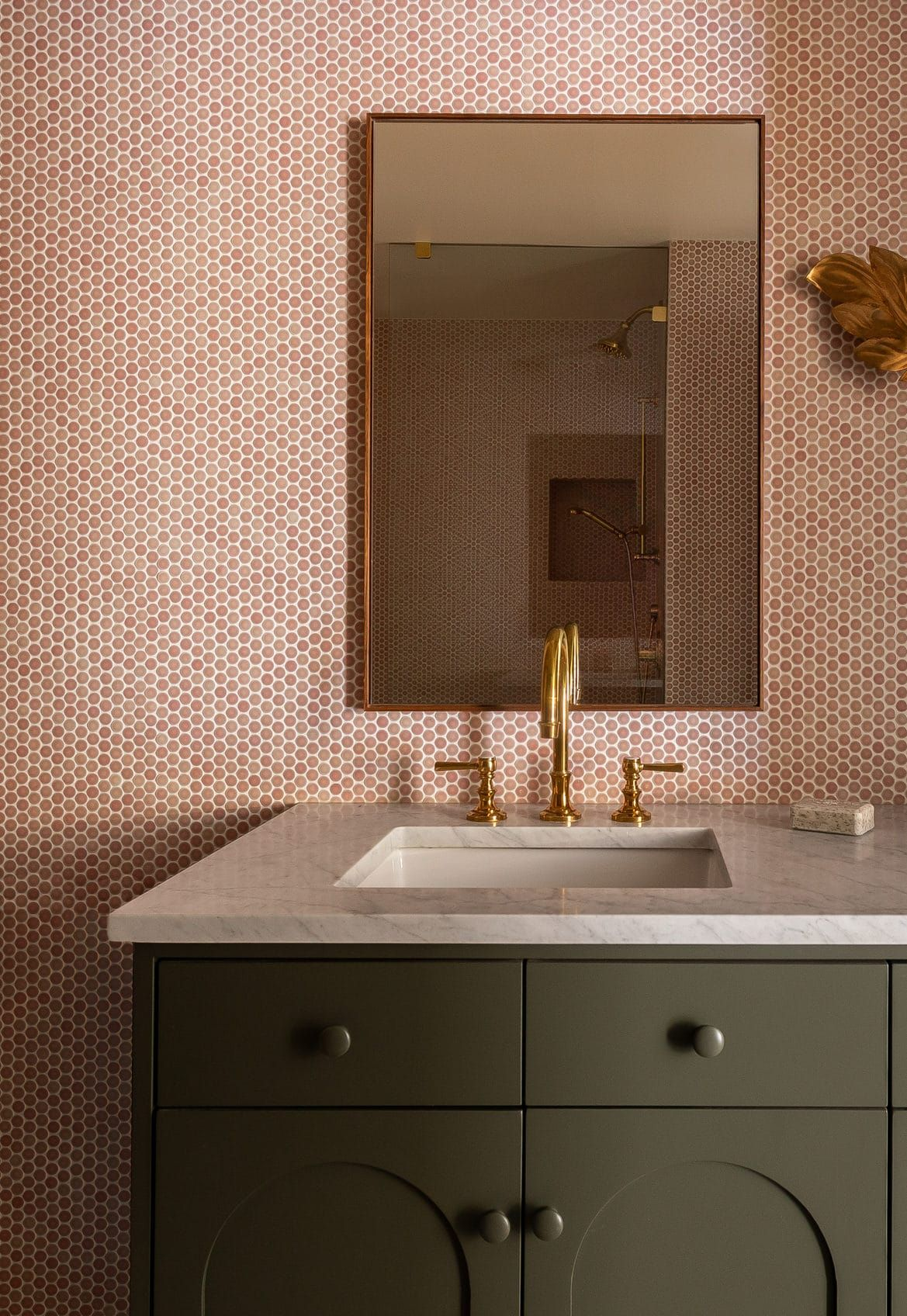Re Style Your Tile The 99 Cent Solution To Elevate Your Space Bobby Berk In 2020 Pink Bathroom Tiles Tile Backsplash Bathroom Tile Bathroom