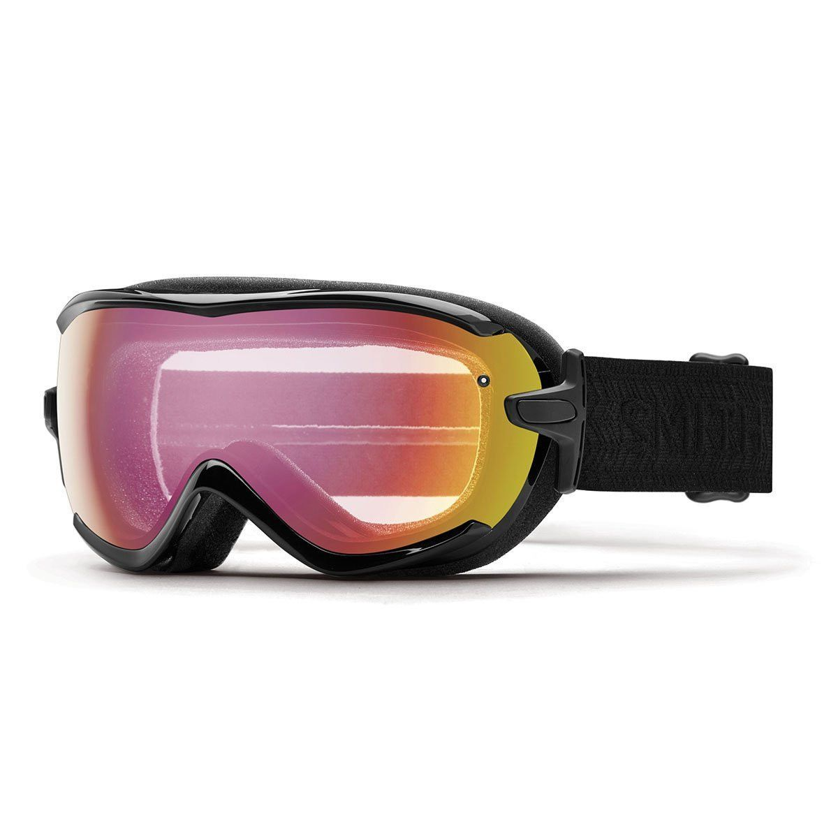b9f506cad55 Smith Optics Virtue Adult Snowmobile Goggles Eyewear Black Eclipse    Photochromic Red Sensor Mirror