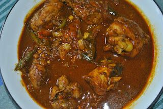 Sri Lankan Chicken Curry. Yum !
