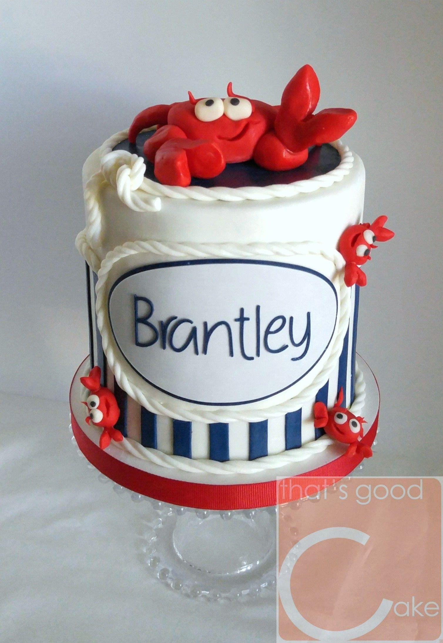 Crab By Birthday Cake