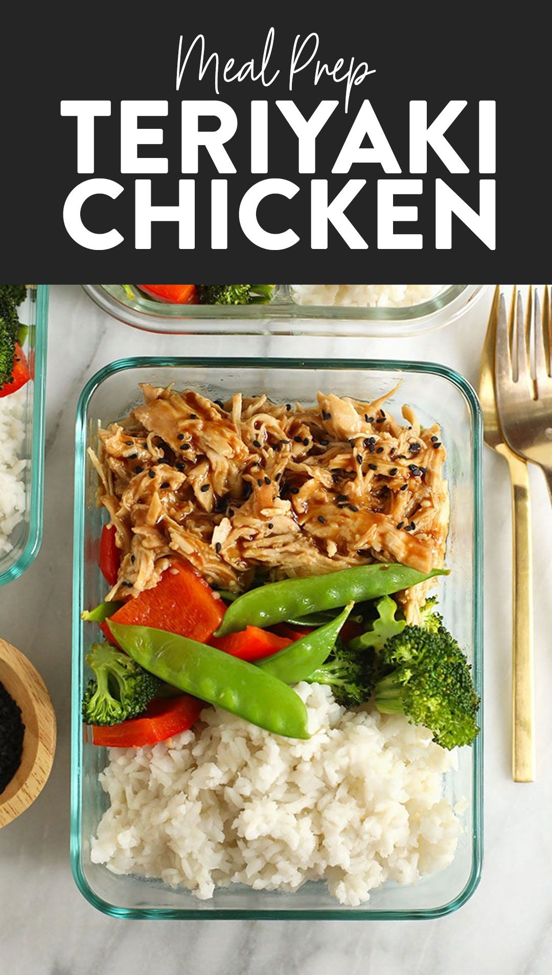 Crock Pot Teriyaki Chicken (best meal prep!) - Fit Foodie Finds