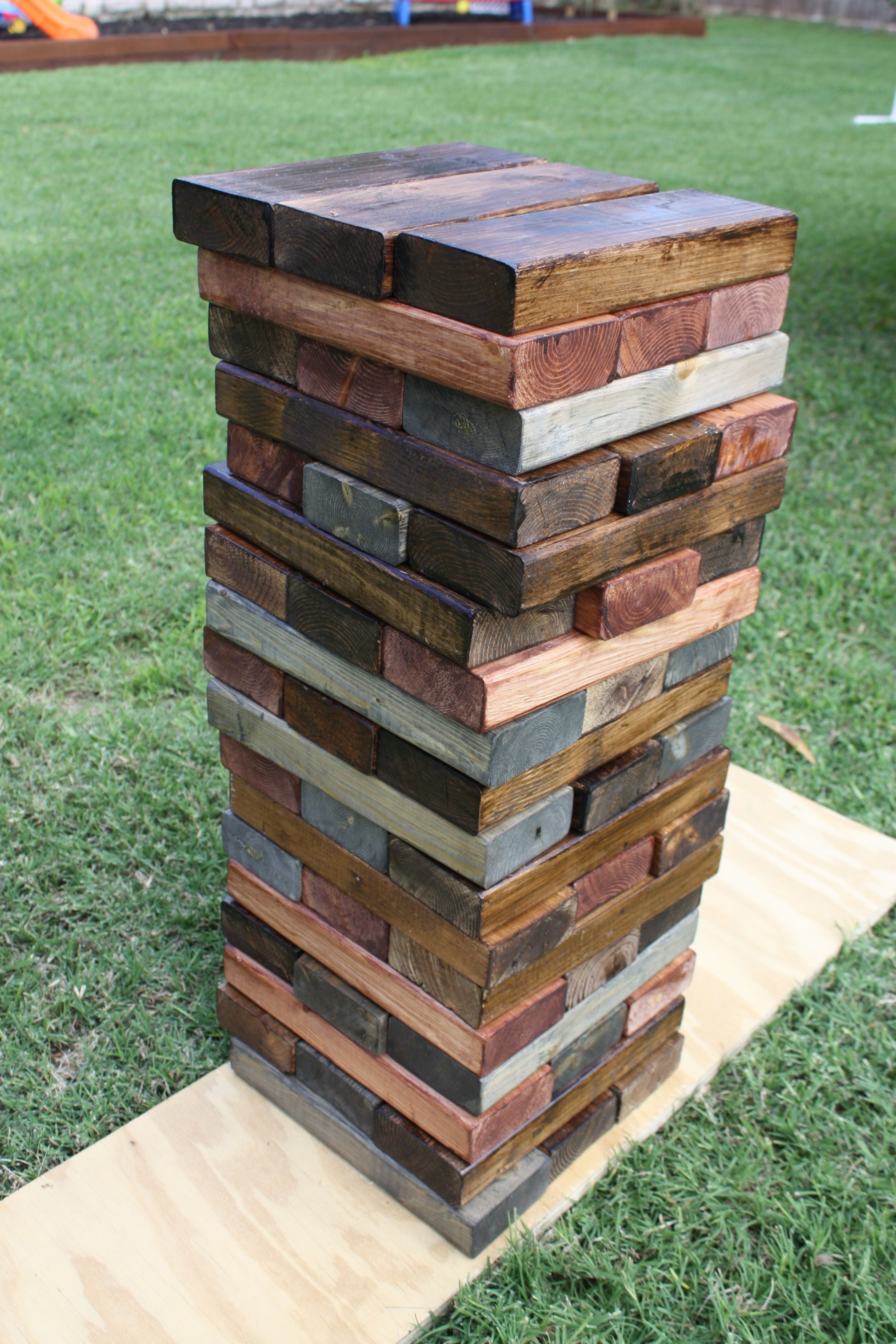 party/ giant lawn Jenga/ husbands birthday party ideastasting party/ giant lawn Jenga/ husbands birthday party ideas