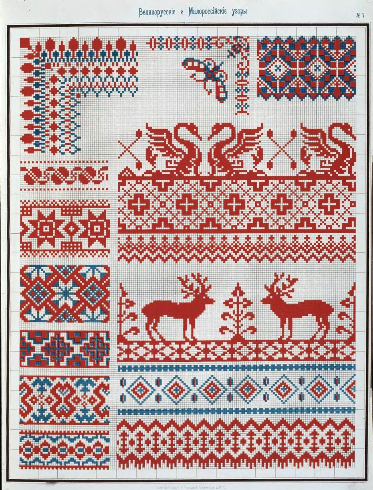 1877 Ornament Russkoj Narodnoj Vyshivki Kak Istoriko Etnograficheskij Istochnik Collected Velikorusskih Malorossiyskih Patterns For Embroidery Cross Stitch Border Pattern Cross Stitch Flowers Cross Stitch Embroidery