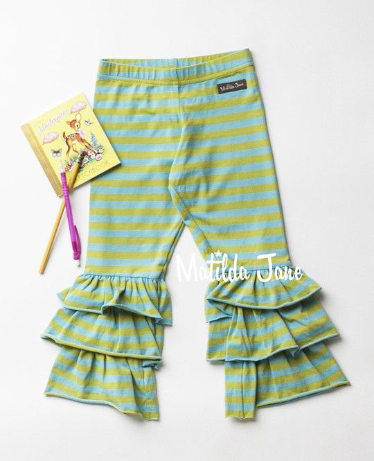34. LEMONGRASS BENNYS.(RV $36-$38). sz 6m, 12m, 18m, 2, 4, 6, 8, 10, 12, 14.PBNfall2013. (legging, benny, striped, blue, green)
