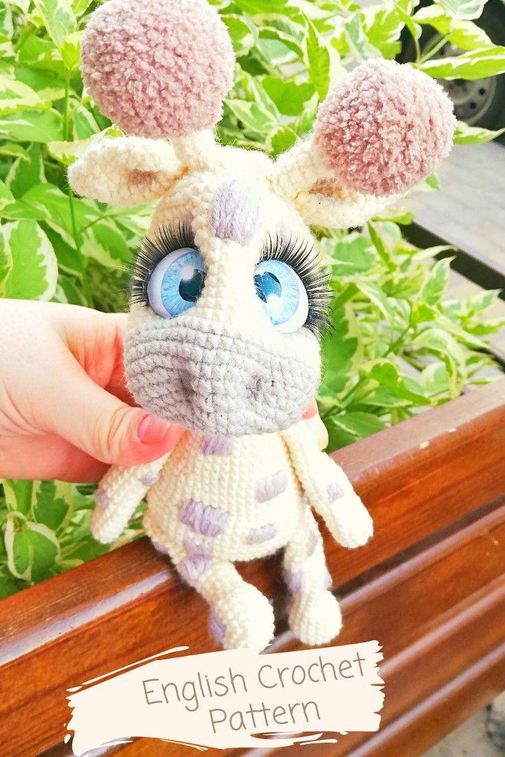 Crochet Pattern Giraffe. Simply crochet pattern. giraffe pdf. Giraffe tutorial. diy #crochetgiraffepattern