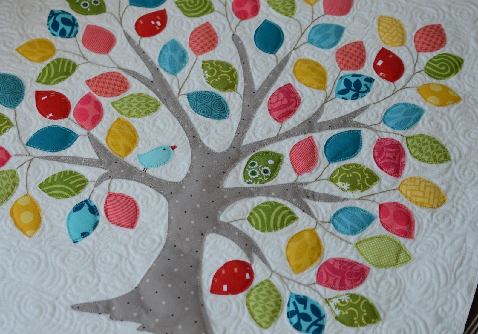Tree Quilt Pattern On Pinterest Tree Quilt Mini Quilt