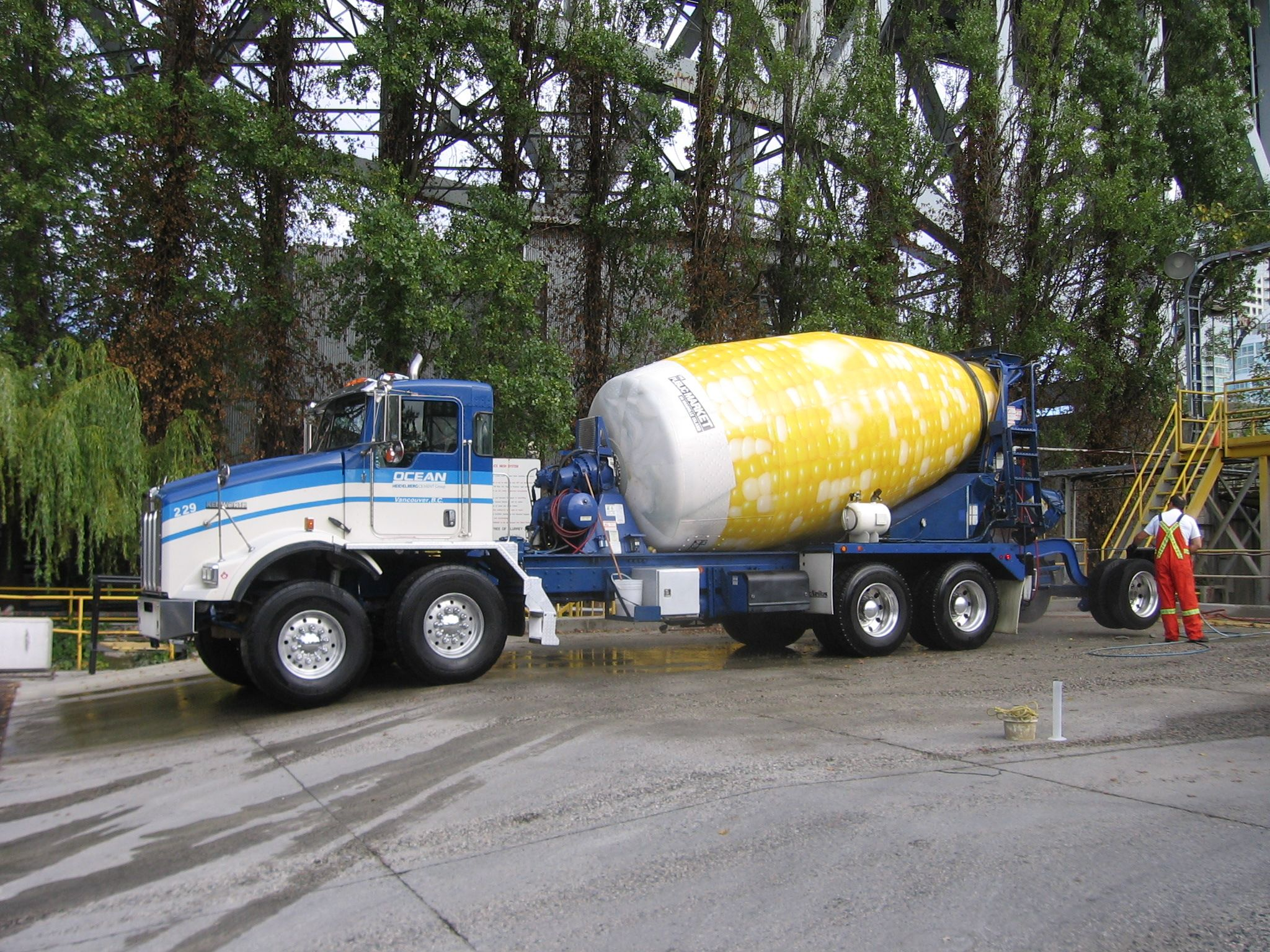 Ocean Concrete, a subsidiary of Lehigh Hanson Material Limited in