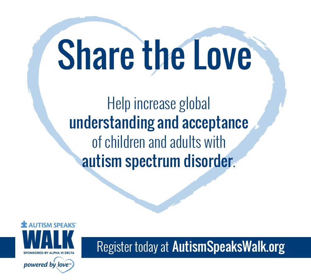 Autism Speaks Updates Their Mission >> 2017 Share Graphic Mission Autism Share The Love Every