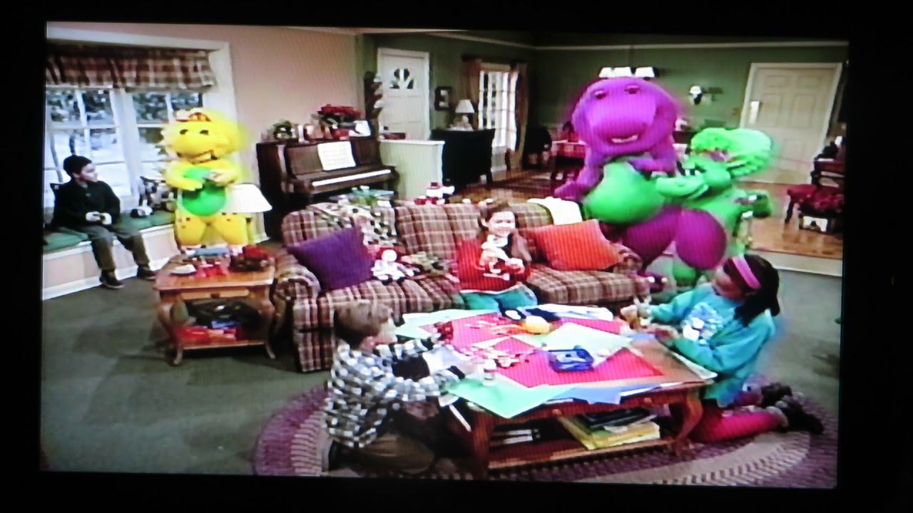 Part Four, Barney\'s Night Before Christmas, 1999 | Barney Home ...