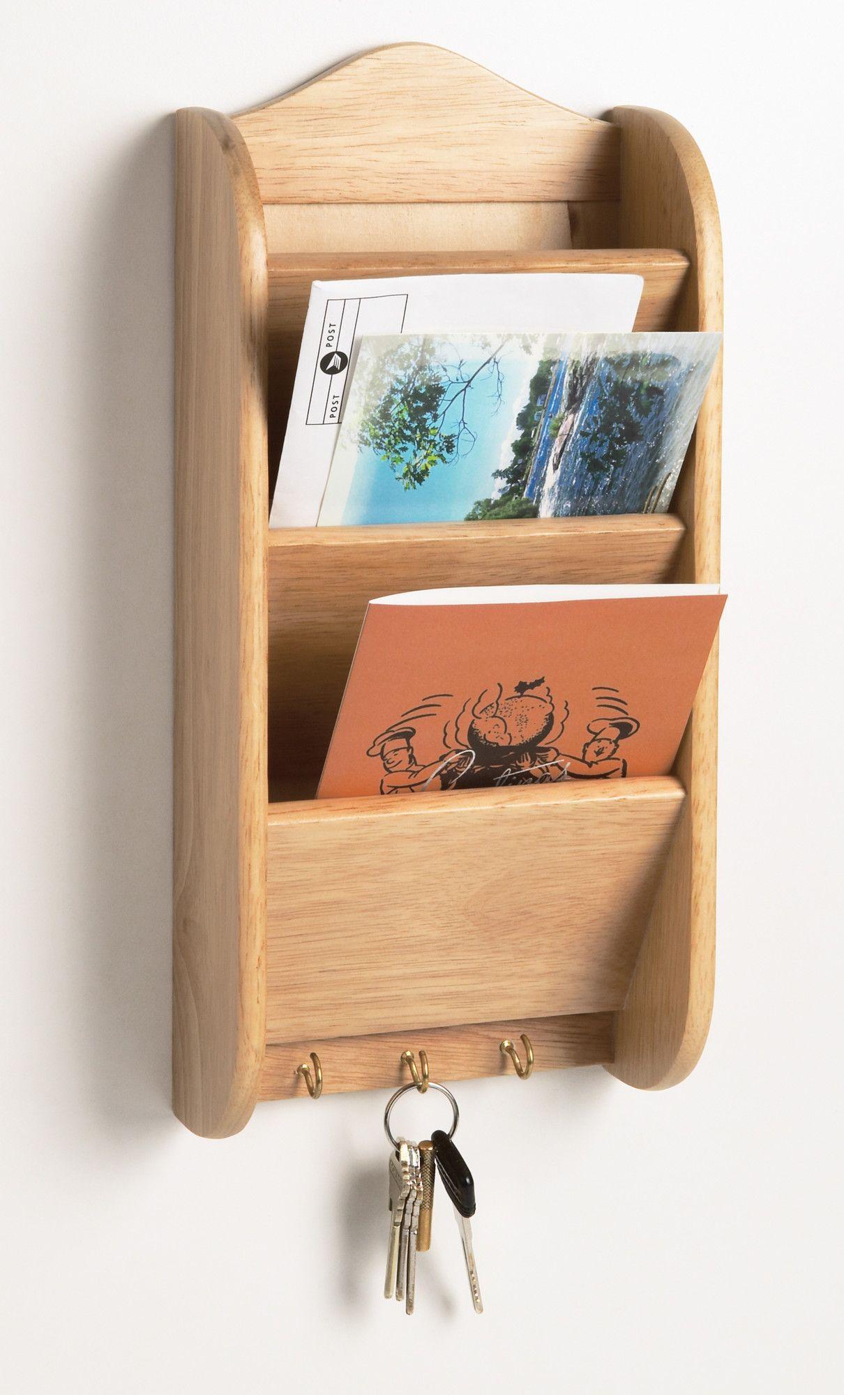 Fox Run Craftsmen Letter Rack Letter rack, Wooden