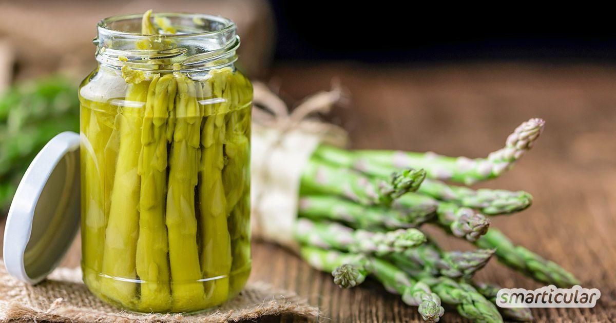 Spargel einkochen - so wird das saisonale Gemüse haltbar fürs ganze Jahr