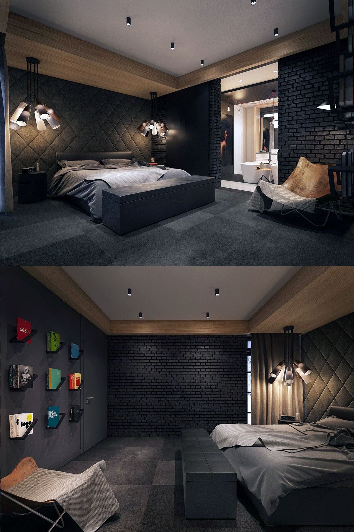 Awesome dark furniture bedroom ideas tips for 5  Luxury