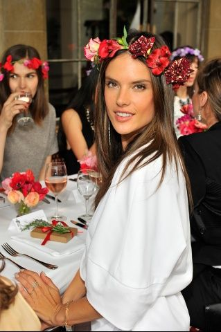 Head Over Heels — Alessandra Ambrosio attends a lunch in honor of Christian Louboutin — Vogue.com