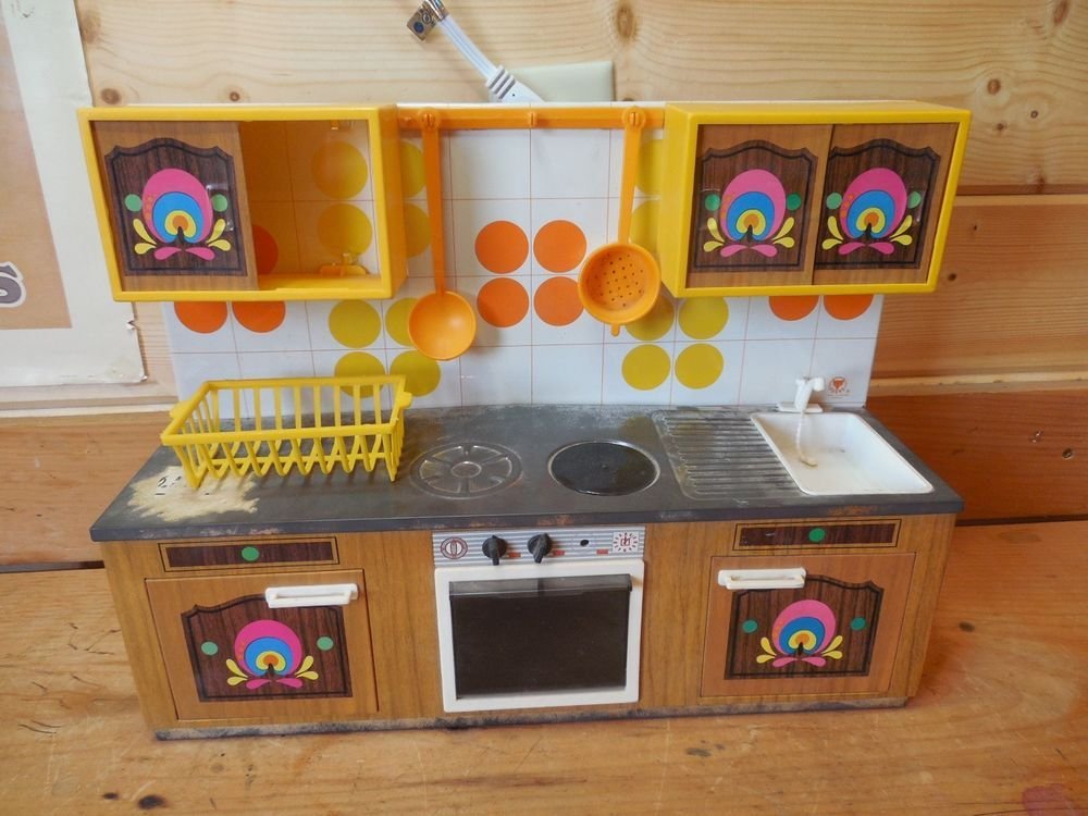 Vintage Fuchs Tin Kitchen toy and Accessories made in West Germany ...