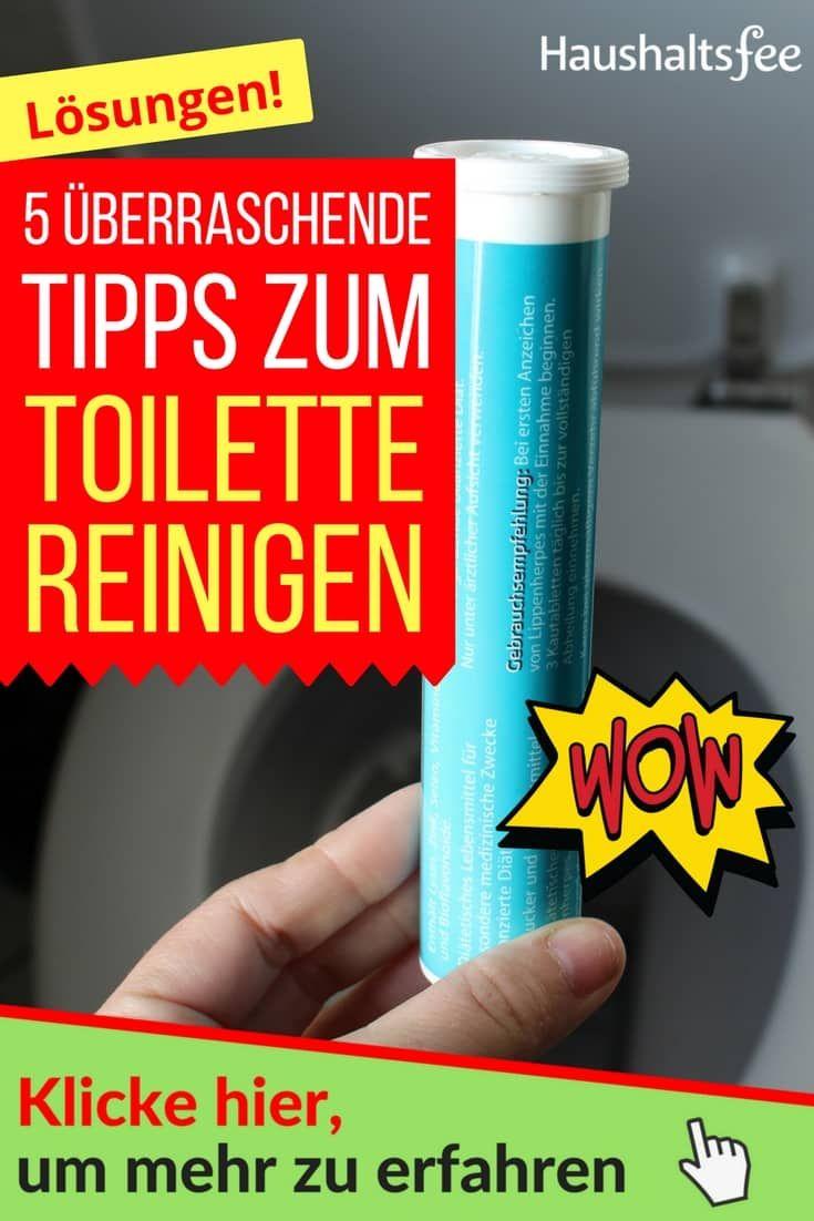 berraschende tipps deine toilette zu reinigen putzen haushalt tipps. Black Bedroom Furniture Sets. Home Design Ideas