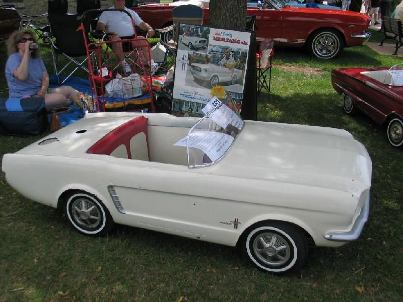 junior for sale | 1965 Mustang Junior Gas Powered Car For Sale ...