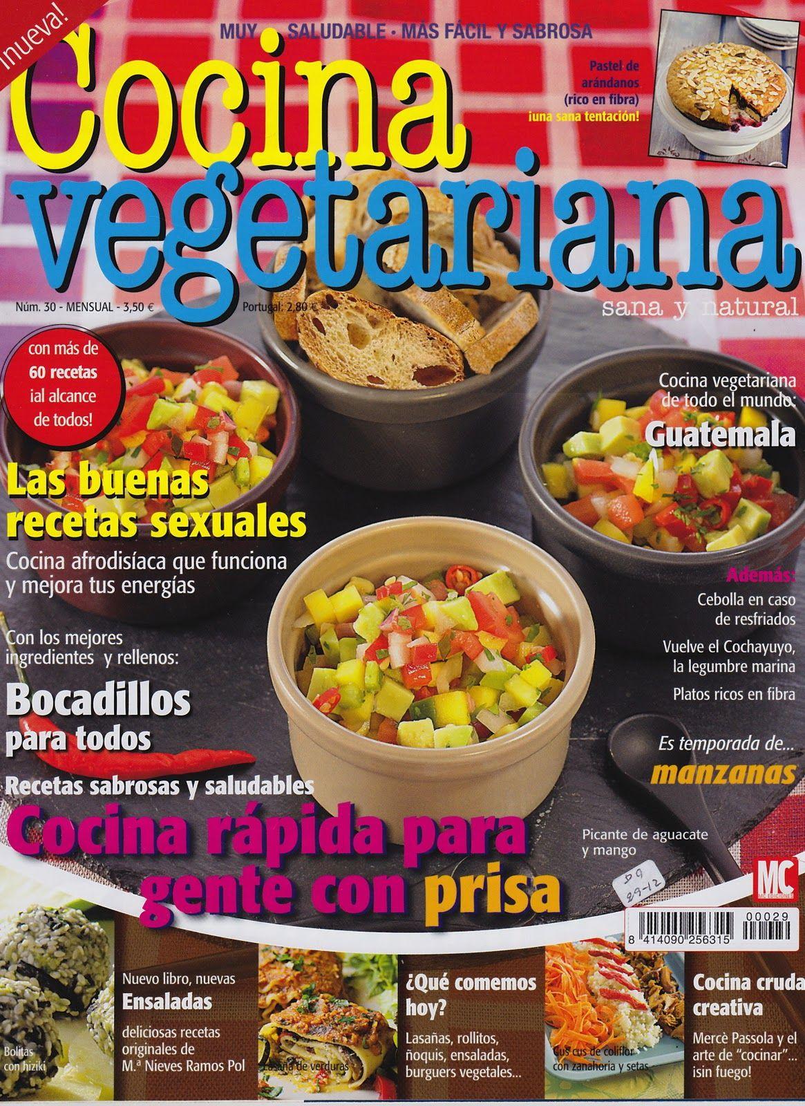 Cocina Vegetariana Revista   Cocina Vegetariana Revistes 2015 Pinterest