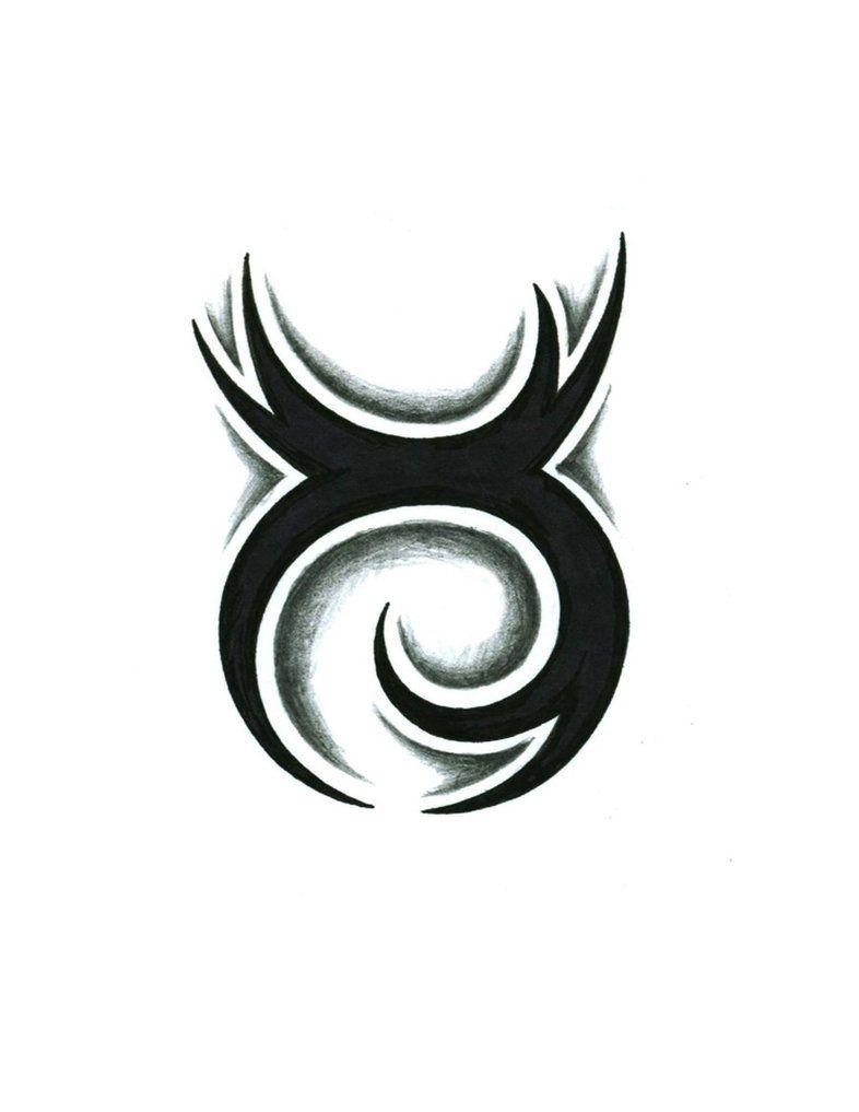 a82a593e4 Tribal Taurus Tattoo Design by JSHarts on deviantART | It's A Taurus ...