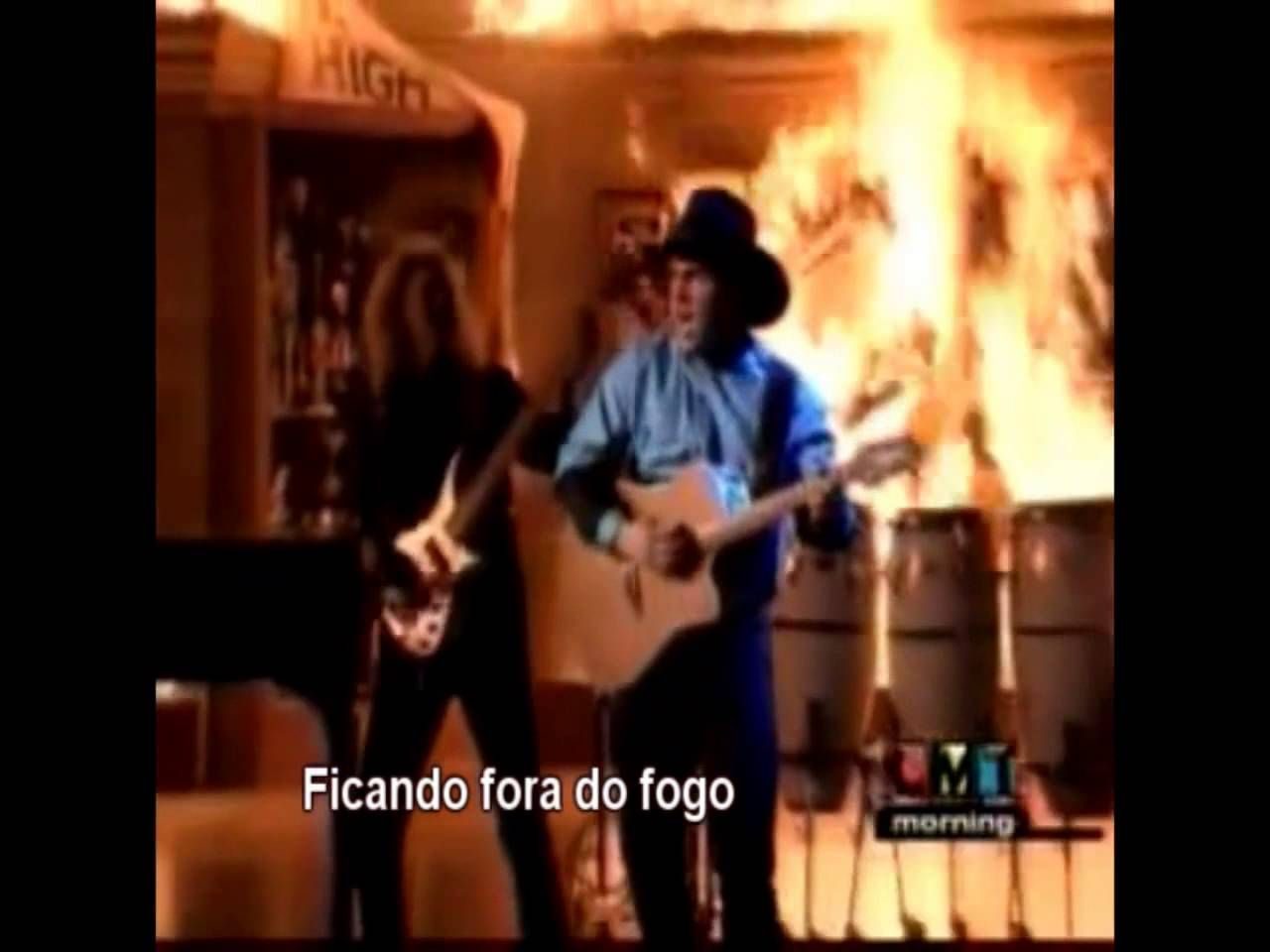Standing Outside The Fire Garth Brooks Legendado Standing