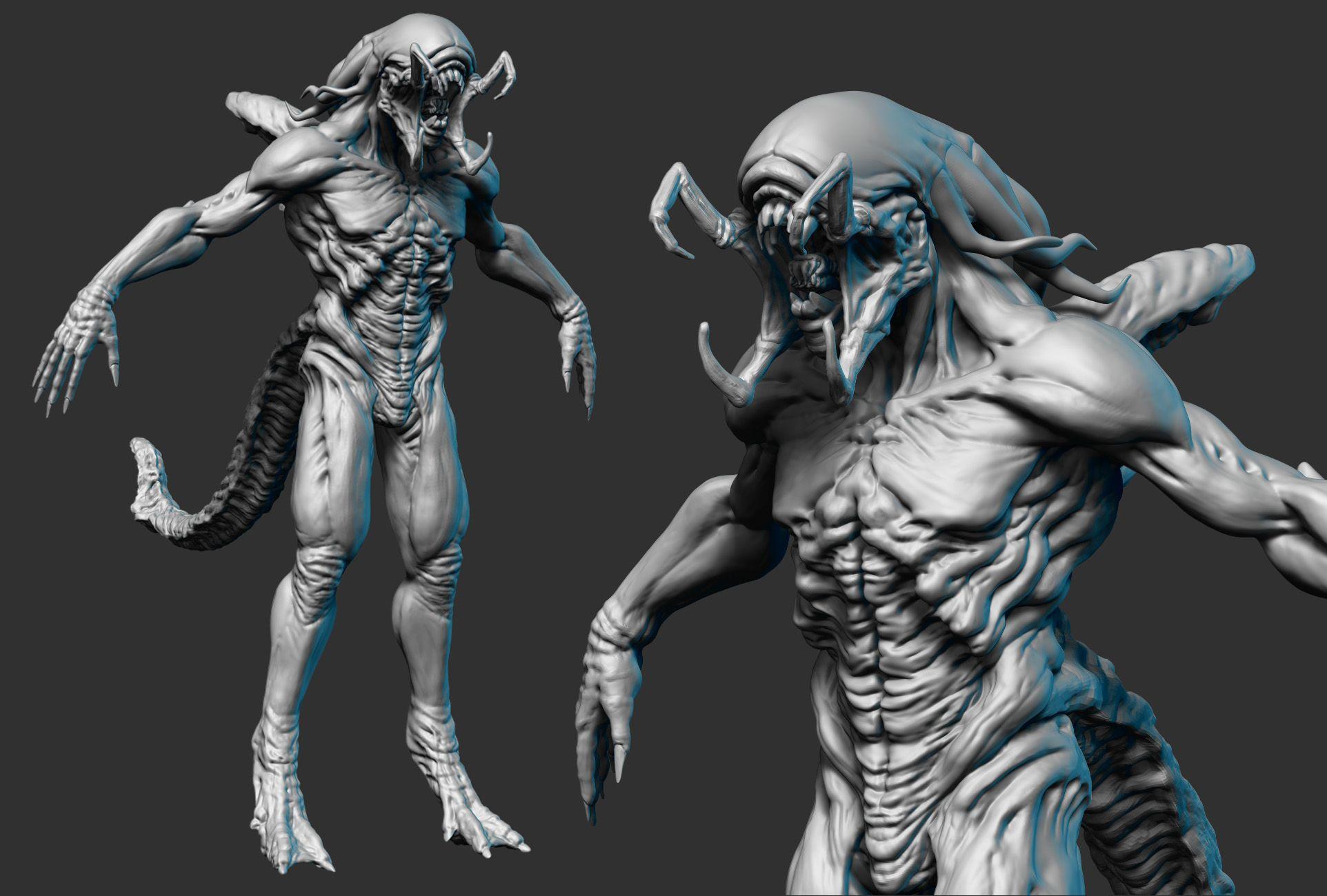 Predalien | Predator alien, Alien art, Alien vs predator