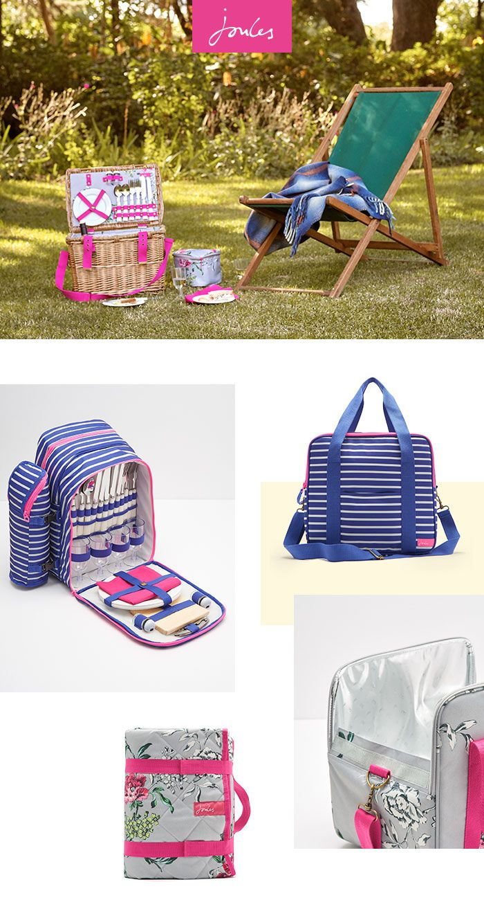 From Picnic Baskets And Hampers With All The Essentials To Blankets Chairs In Stunning Joules Prints We Can T