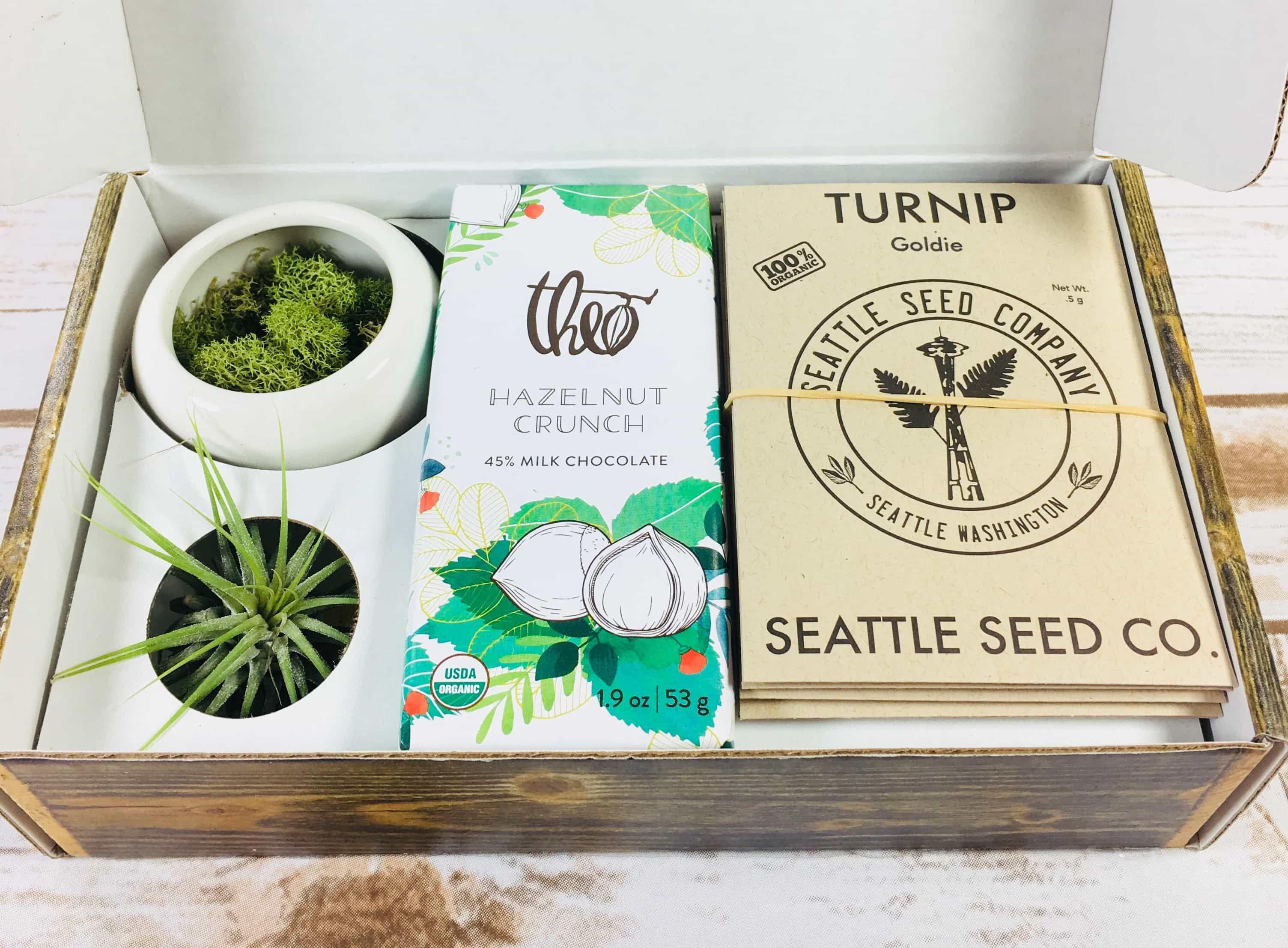 PlowBox Garden gifts, Subscription boxes, Box design