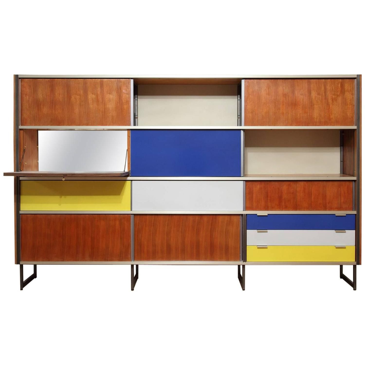 Modernist Cabinet By Georges Frydman For Efa Creative Wall Decor Southern Wall Decor Simple Wall Decor
