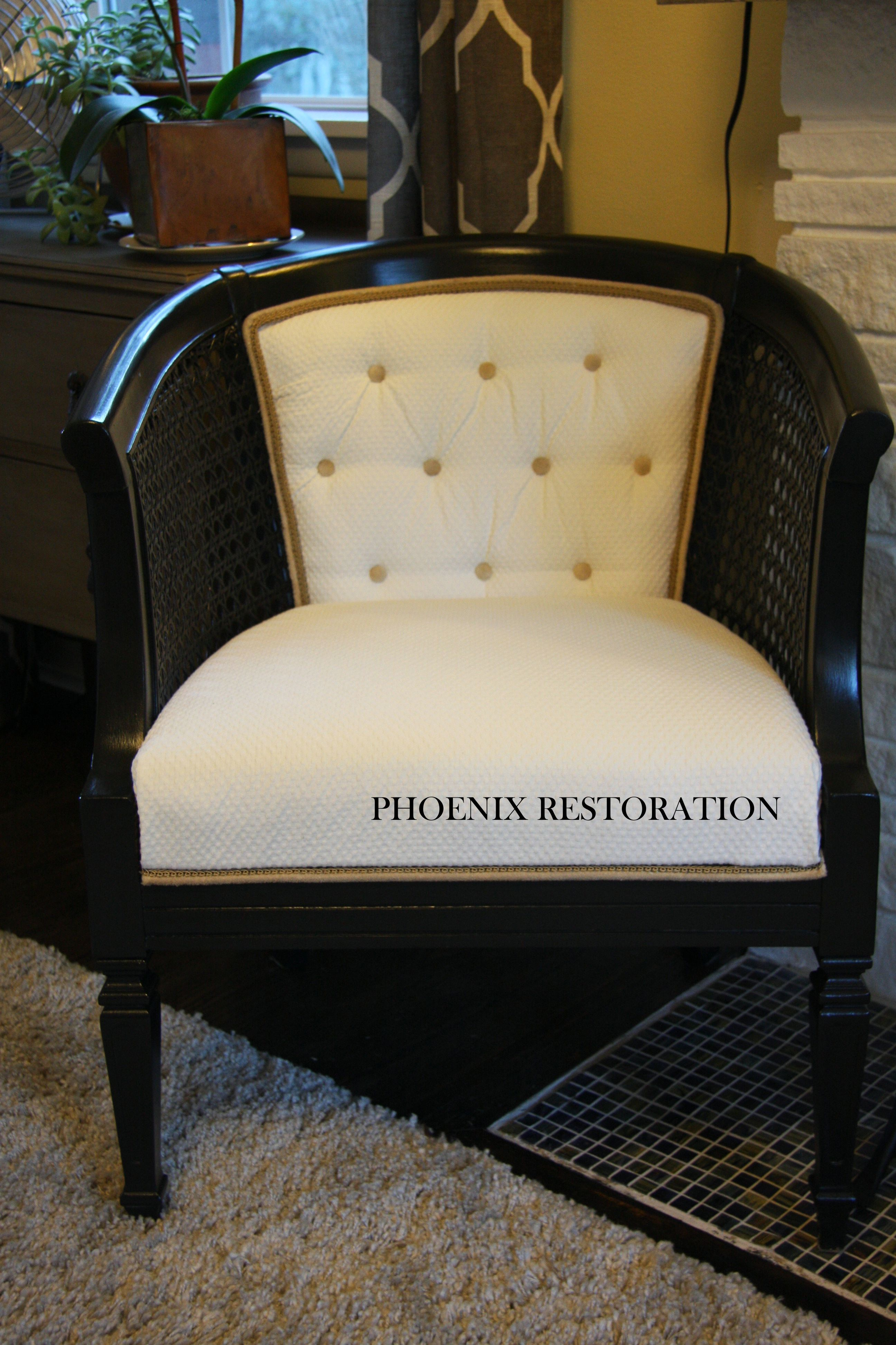 Upholstery 101: Vintage Cane Chair Makeover | Recycle Reclaim Reuse ...