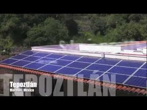 Tecnologia Solar Fotovoltaica Proyectos Y Ejemplos De Energia Solar Y C Energia Solar Instalacion Casas