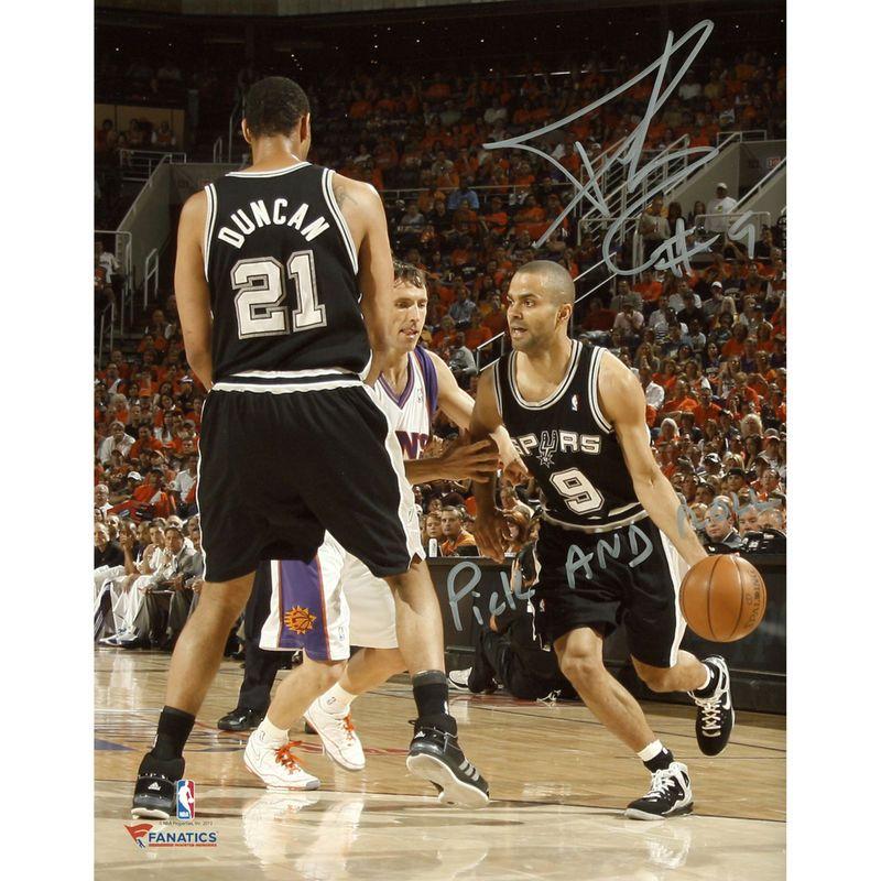 Tony Parker San Antonio Spurs Fanatics Authentic