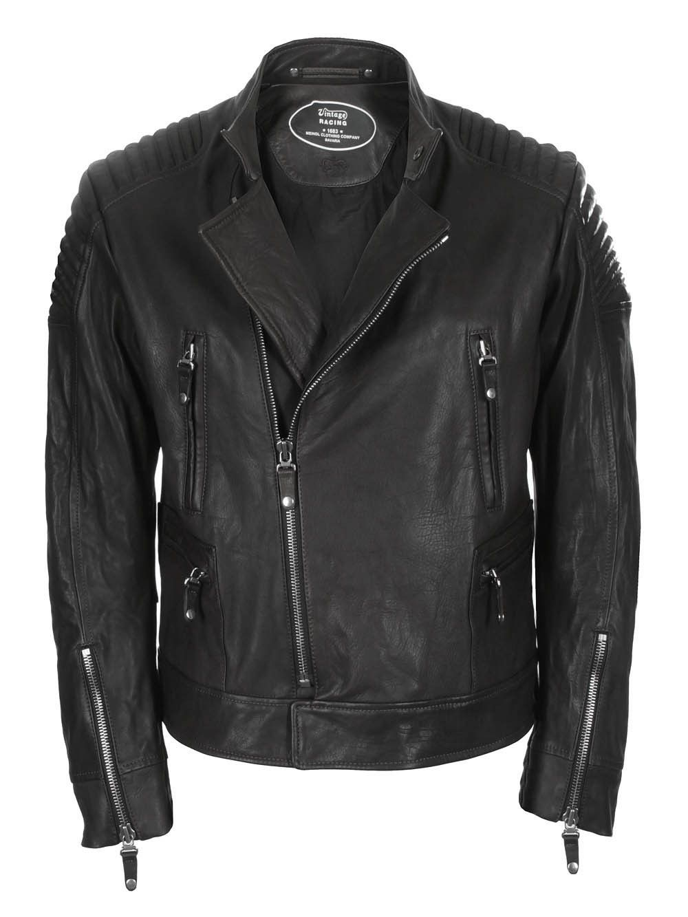 Meindl Lederjacke Redwoods black   Jacken, Lederjacke und