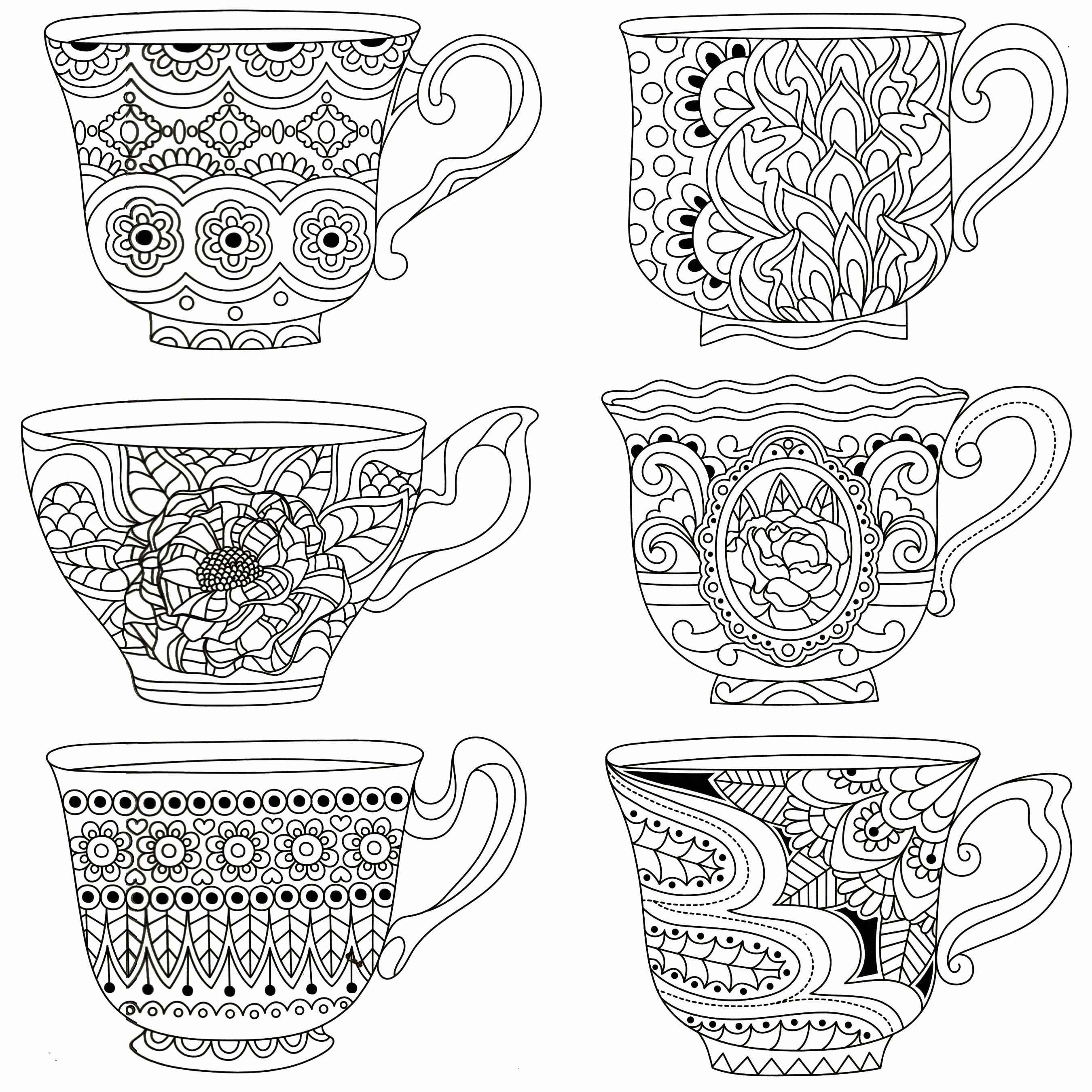 Tea Cup Coloring Page Lovely Stacked Tea Cups Coloring Pages Sketch Coloring Page Coloring Pages Bear Coloring Pages Tea Cups