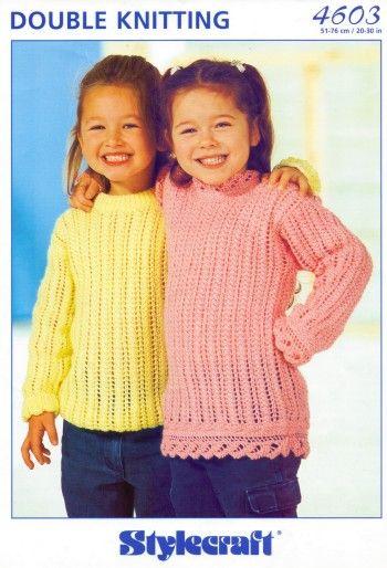 Retro Childrens Knitting Patterns Girls Only Pinterest Babies