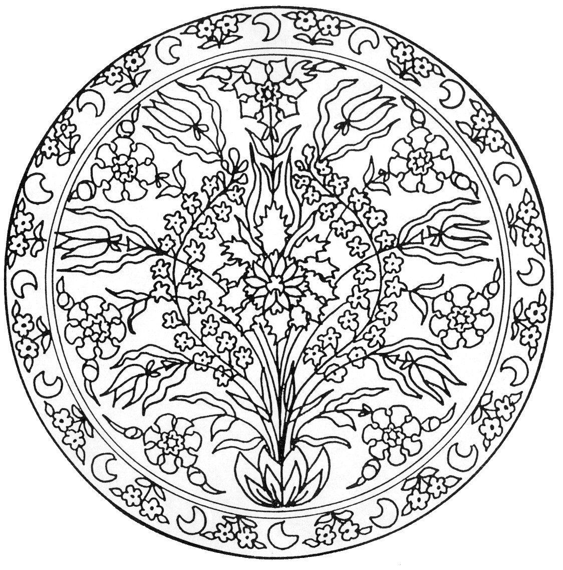 Dise os de mandalas de flores buscar con google for Disenos de mandalas