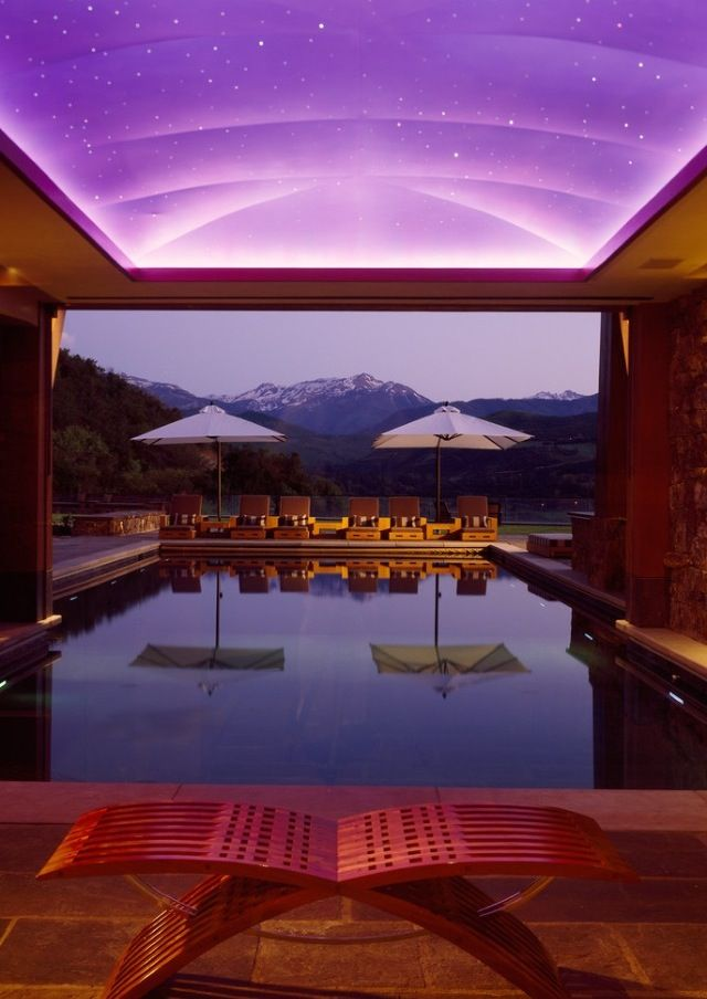 Oh Yes Take Me There Now Indoor Pool Design Indoor Outdoor Pool Indoor Swimming Pools