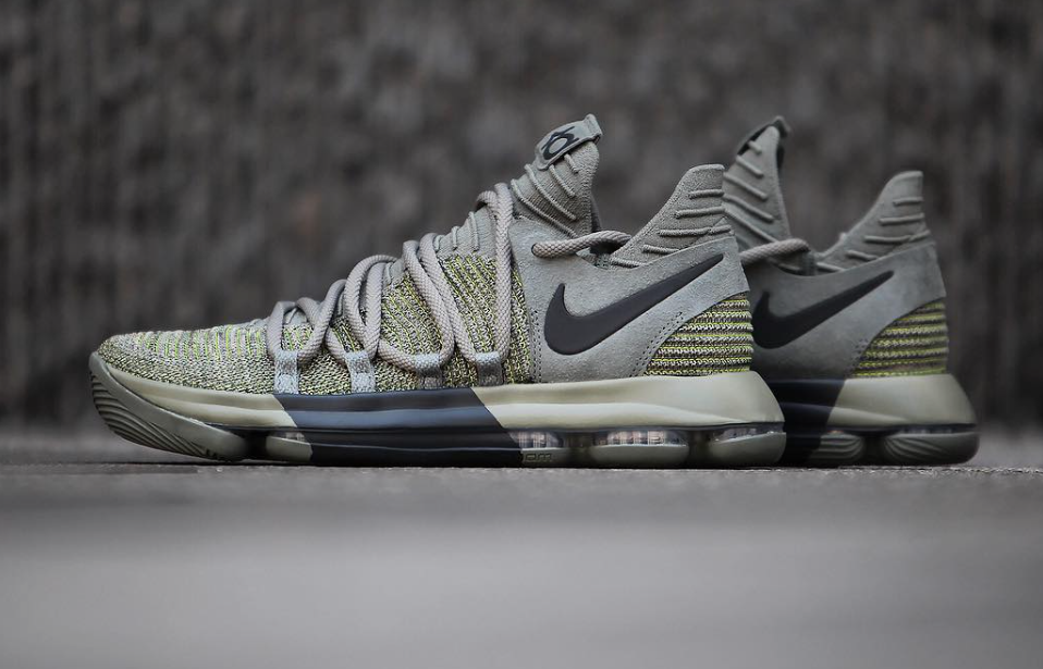 Look For The Nike KD 10 Dark Stucco In November