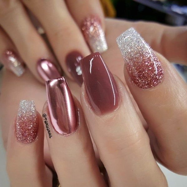 157 Classy Coffin Nails Design That You Should Try Fall Nail Art Designs Nail Art Wedding Coffin Nails Designs