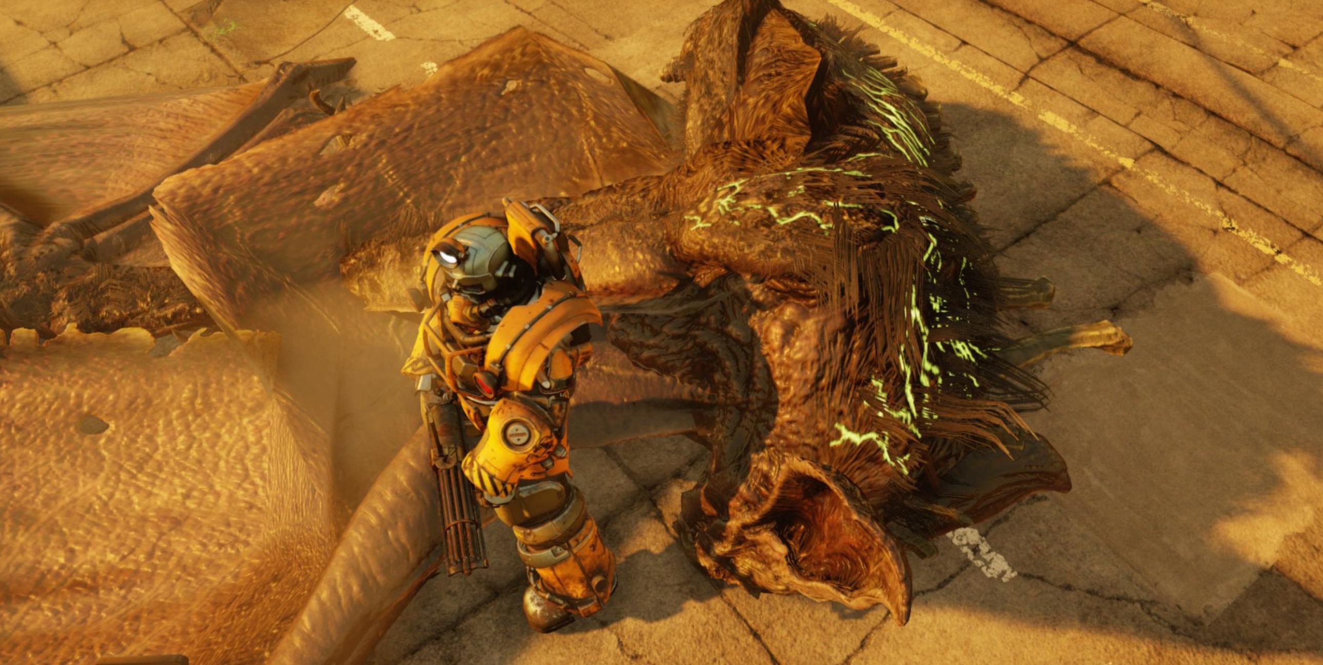 27+ Fallout scorchbeast information