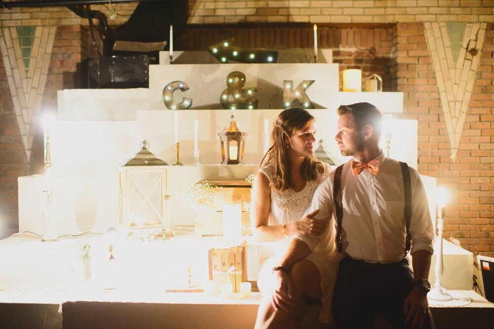 Marathon Village Wedding Display Design Nashville Tn Jessie Holloway