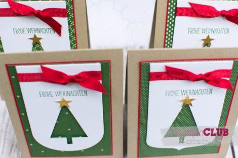 20140914Stampin Up Christmas Stamp A Stack Trim the Tree DSP Stack Festlich Geschmückt Tree Punch Stanze Tannenbaum Prosit Weihnachten