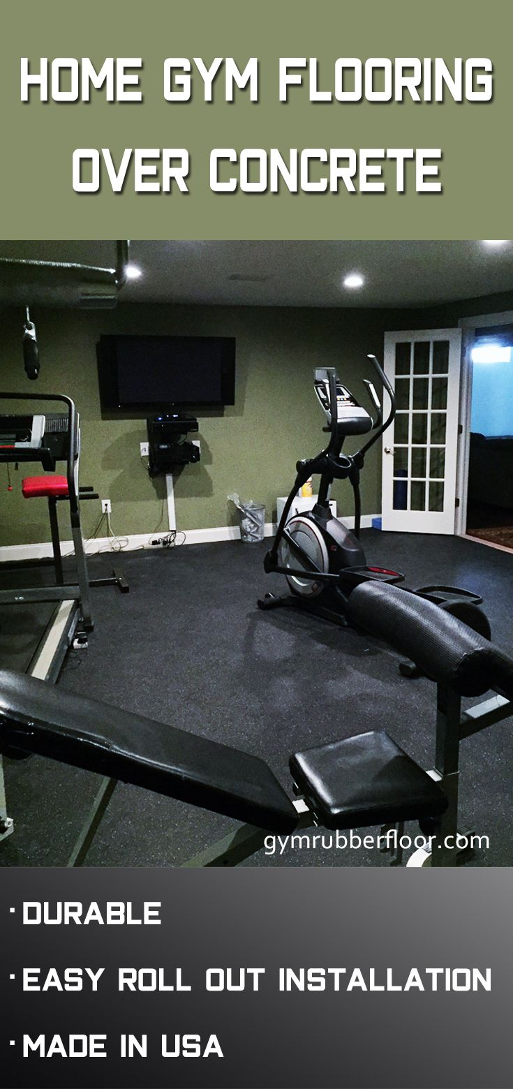 Rolled Rubber 1/4 Inch Black Cascade in 2020 Home gym