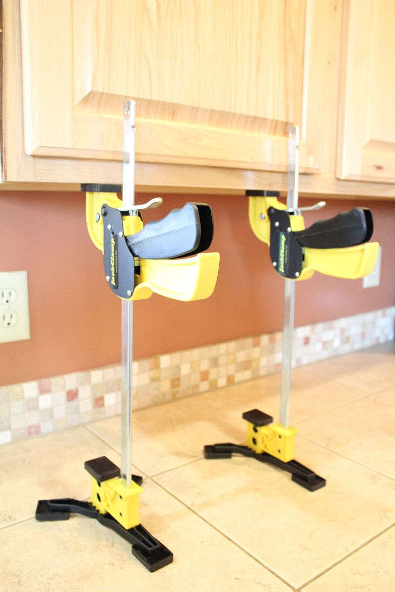 Beautiful This Kit Was Created Specifically For Those Who Install Cabinets Regularly    Use The JackClamp And Make Your Life Simpler! The Cabinet Jack Kit Makes  It ...
