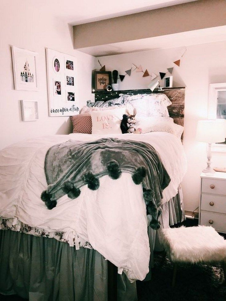 50 Beautiful College Apartment Bedroom Decorating Ideas 4 Dorm